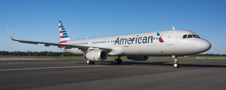 American Airlines' Newest Airplane Made In Mobile