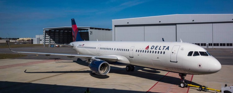 Delta Takes Delivery of First Aircraft From Mobile