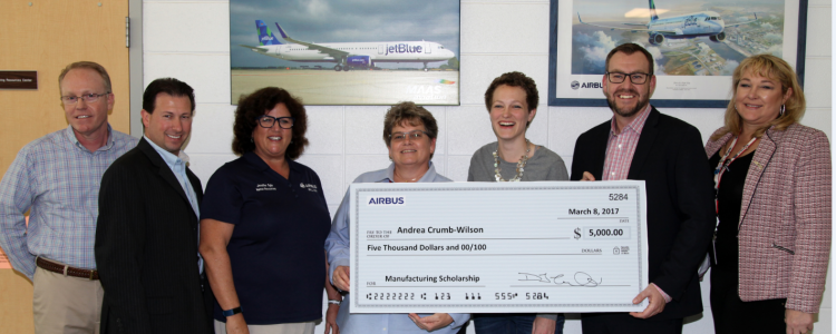 First Ever AIRBUS Manufacturing Scholarship