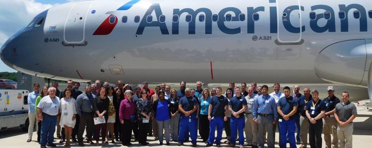 MSN 7500 Delivered to American Airlines