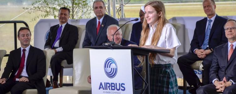 Victoria Corob, Airbus Alabama Spring Intern