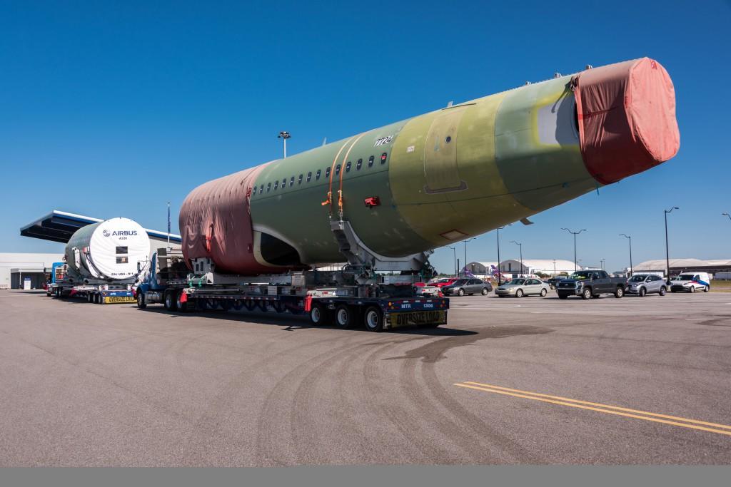 First A320 arrival - Spirit