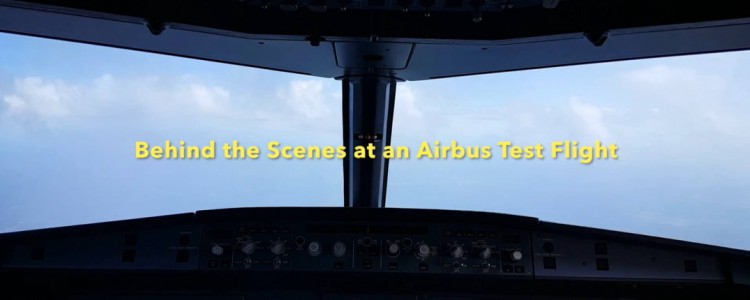 Behind the Scenes: Airbus A321 Test Flight