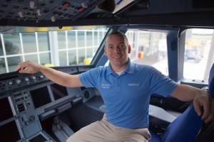 Wes Alberts cockpit