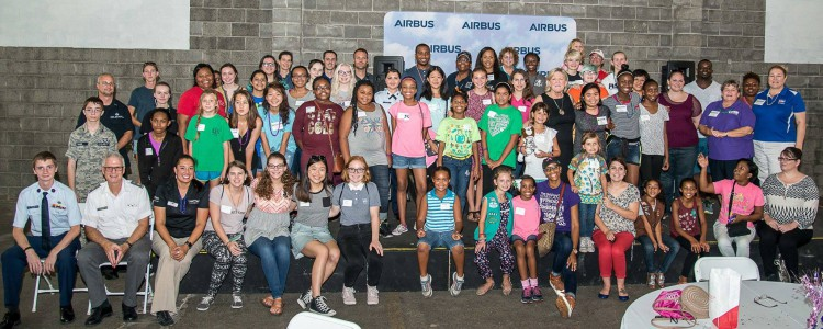 Mobile's First Girls In Aviation Day