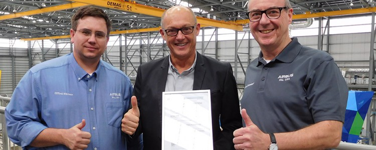 Airbus U.S. Manufacturing Facility Achieves Next Standard of Excellence