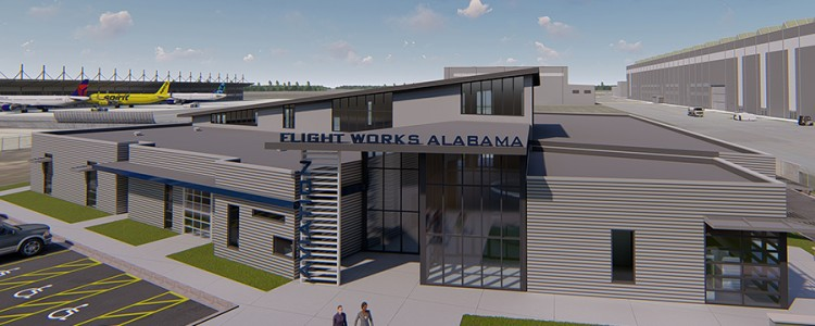 Introducing Flight Works Alabama:  Airbus Names Aviation Education Center