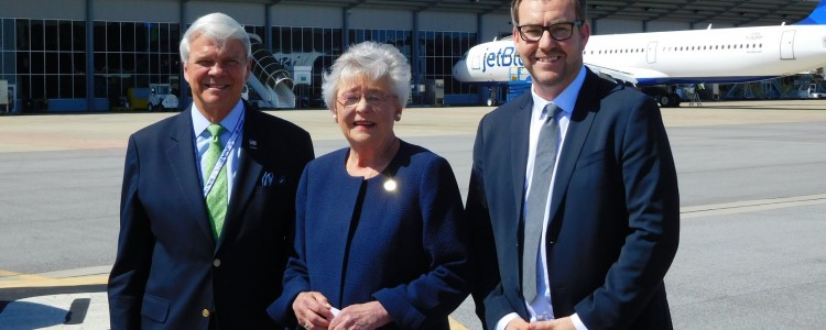 Alabama Governor Kay Ivey Visits the Mobile FAL