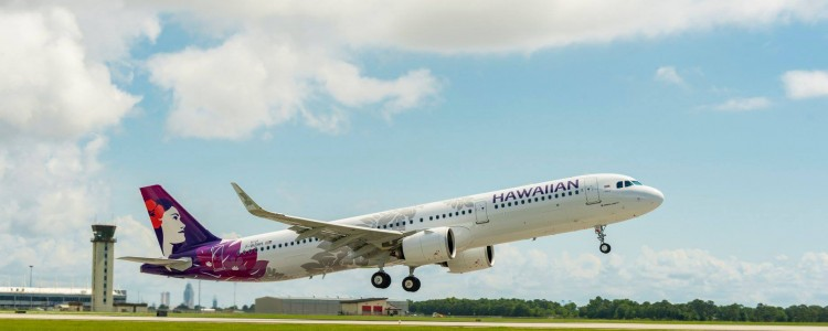 Hawaiian Airlines Takes Delivery of the first US-built A321neo Aircraft