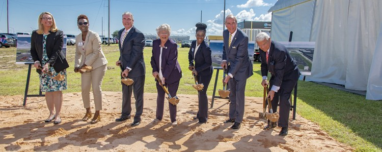 State of Alabama, Airbus Break Ground for Flight Works Alabama