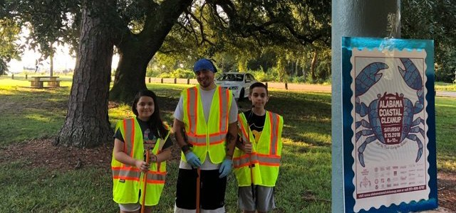 Mobile FAL and Mobile Engineering Volunteers Join Annual Alabama Coastal Cleanup