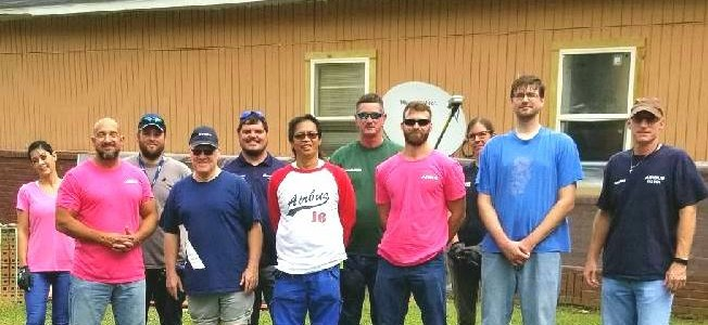Airbus Alabama Employees Volunteer with Habitat for Humanity