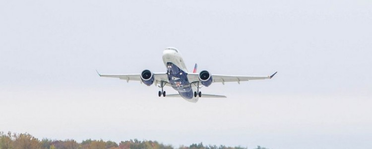 Up, Up, and Away! The Maiden Flight of the First Delta A220