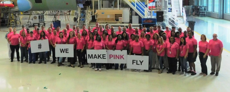 Airbus Alabama: We Make Pink Fly!