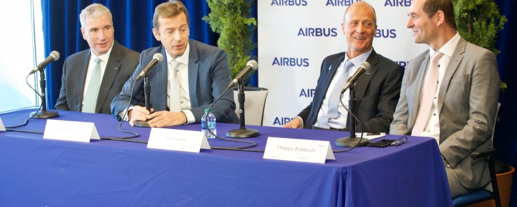 Airbus Mobile Hosts International Aviation Press for the Latest on the A220 Program