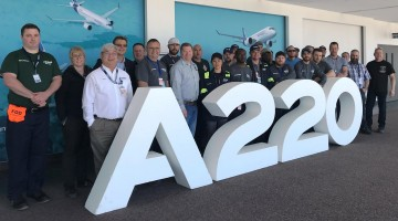 The A220 Pioneers have reported to Mirabel for their on-the-job training.