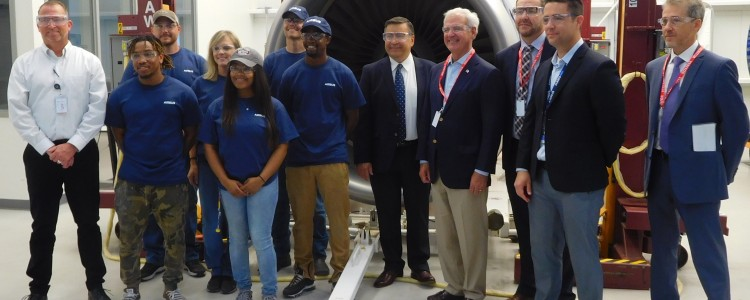 Airbus, Collins Aerospace in Foley Celebrate Success