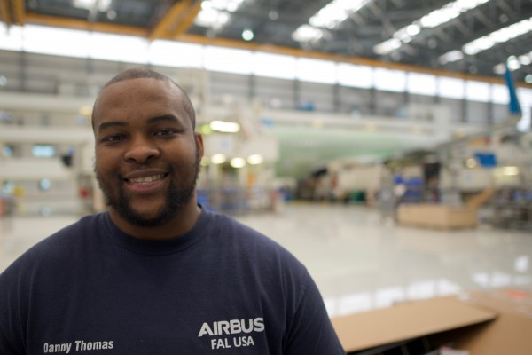 Air Force Vet Danny Thomas's Job at Airbus: Active Problem Solving