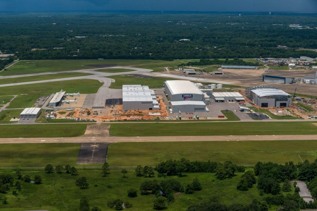 Airbus A220 Site Construction Aerials - 2019-07-21