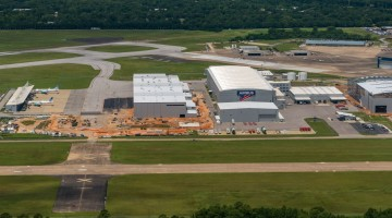 Airbus A220 Site Construction Aerials - 2019-07-21