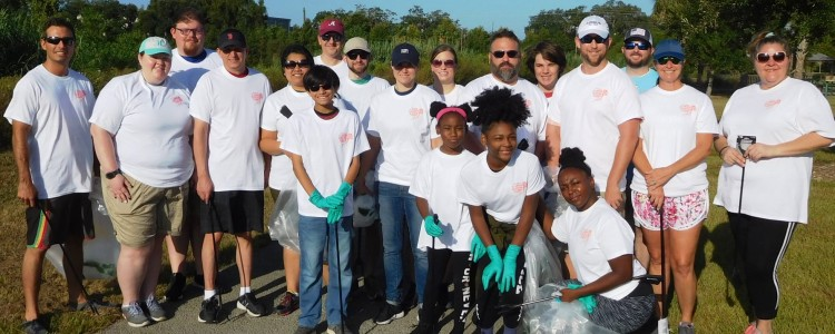 Team Mobile Tackles the 32nd annual Alabama Coastal Cleanup