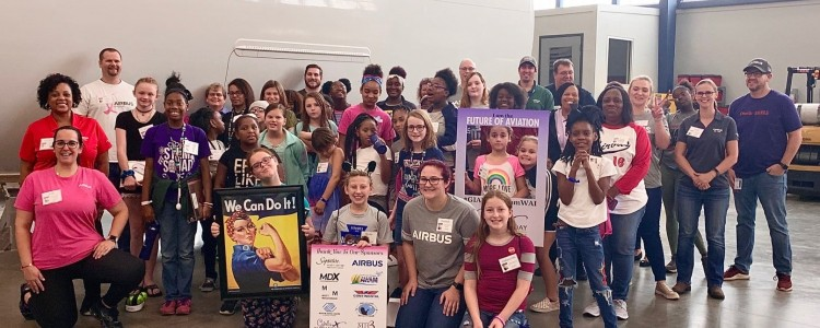 Team Mobile Celebrates 2019 Girls in Aviation Day