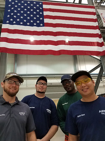 Employees like Brandon, Jesse, Charles and Kelvin exhibit the safety behaviors we expect from the workforce and have participated in the safety management system at the site.