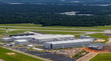 The Airbus U.S. Manufacturing Facility is located on the Mobile Aeroplex at Brookley in Mobile, AL.
