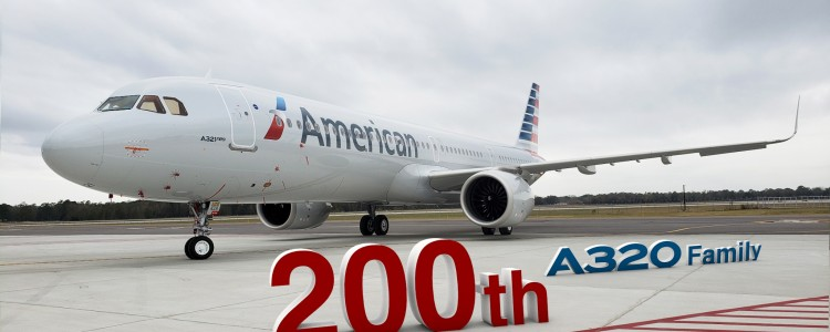 Mobile FAL delivers 200th #A320