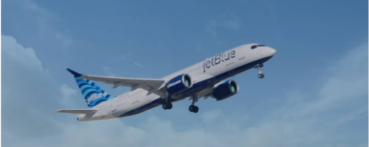 JetBlue Rings in New Year with New Airbus A220-300