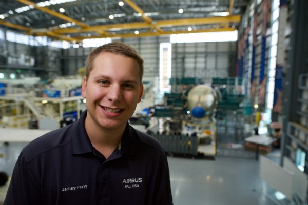 Astronauts of the future may have Zachary Peavy to thank
